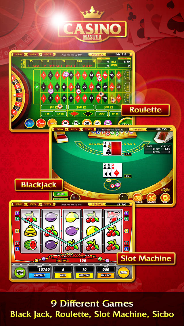 Download Casino Master - Slots BlackJack Roulette Poker App on your Windows XP/7/8/10 and MAC PC
